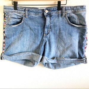 Caslon Women's Boyfriend Shorts Size 34P